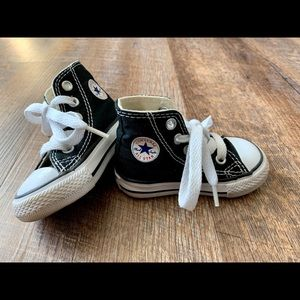 Infant Size 3 Converse High Tops
